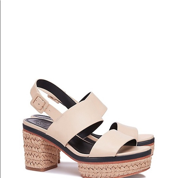 33fdbfa1219 Tory Burch Block heel Solana Sandals